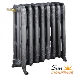 radiateur fonte d cor orn flor al chapp e sun chauffage. Black Bedroom Furniture Sets. Home Design Ideas